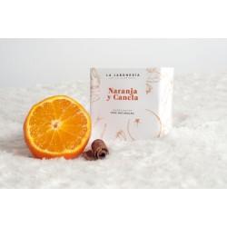 Jabón de Naranja y Canela