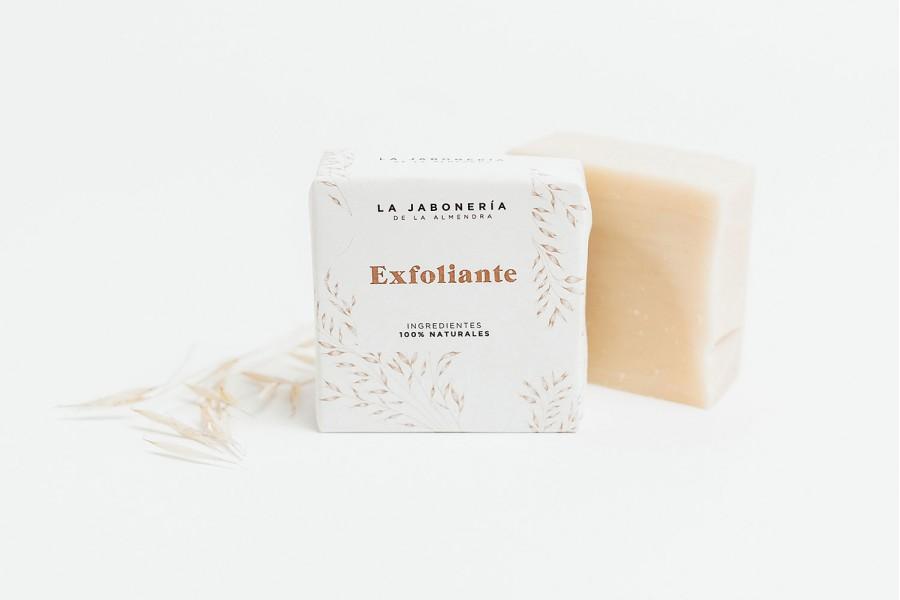 Jabón Exfoliante de Avena